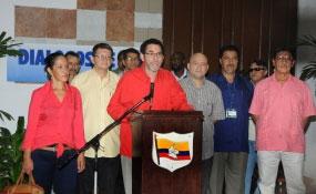 La posición de dialogar bajo el fuego, cada día arrastra mayor insensatez, aseguran las FARC EP.