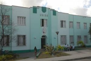 Una de las sedes de la Universidad de Sancti Spíritus José Martí.