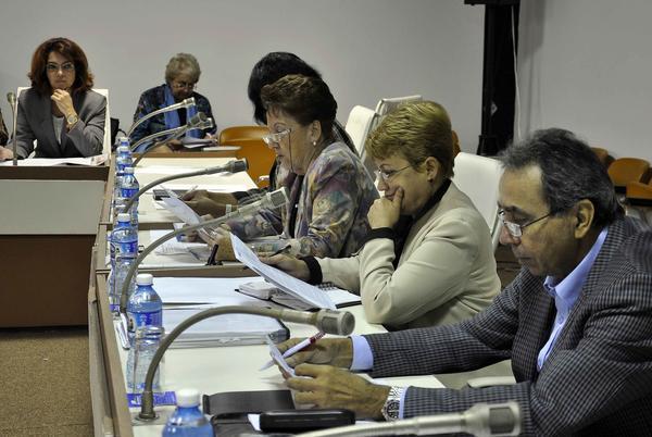 Sesión ordinaria de la Comisión de Relaciones Internacionales. Foto AIN.