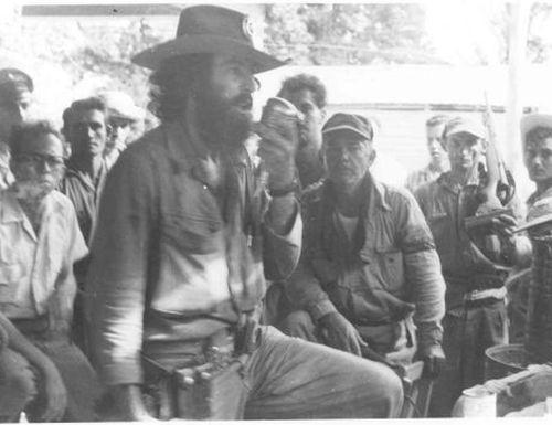 camilo cienfuegos, yaguajay, ejercito rebelde, frente norte de las villas