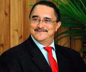 Kenny Anthony, Primer Ministro de Santa Lucía.