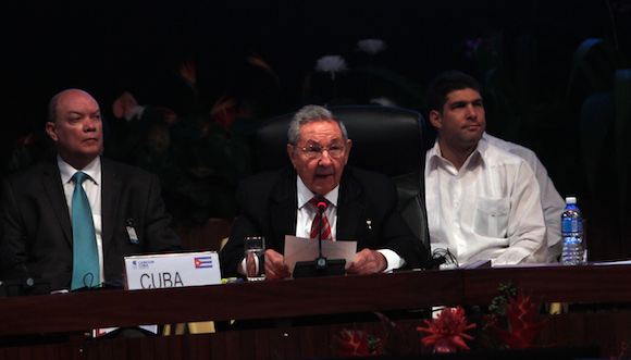 Raúl calificó como fructífera la V Cumbre Caricom-Cuba.