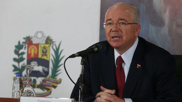 Esta injerencia de Washington es inaceptable, destacó el cancilleer venezolano.
