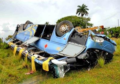 Durante el periodo se produjeron 10 accidentes masivos más que los ocurridos en 2013, para un total de 47.