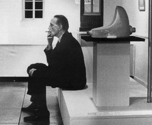 Fuente, de Marcel Duchamp.