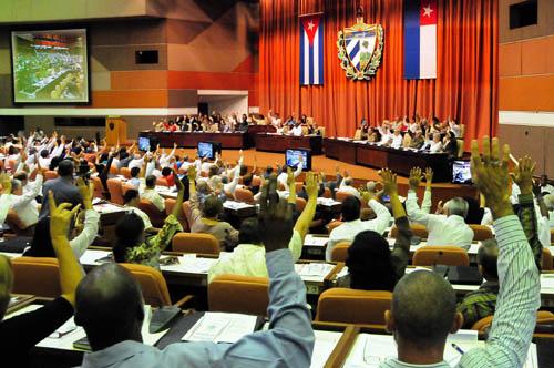 Los diputados cubanos se reúnen hoy en la IV Sesión Ordinaria de la VIII Legislatura de la Asamblea Nacional del Poder Popular.
