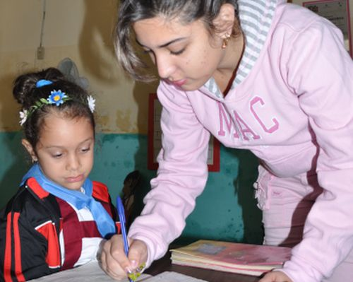 sancti spiritus, enseñanza primaria, educacion cubana, escuela primaria julio antonio mella