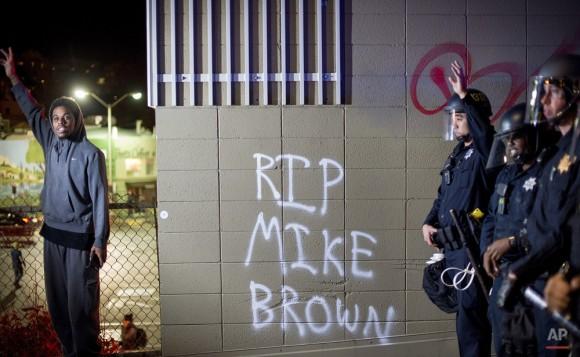 Manifestantes han afirmado que el caso de Hamilton es similar a los de Michael Brown, en Ferguson, Missouri.