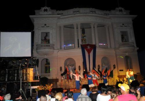 sancti spiritus, triunfo de la revolucion cubana, aniversario 56, gala artisitica