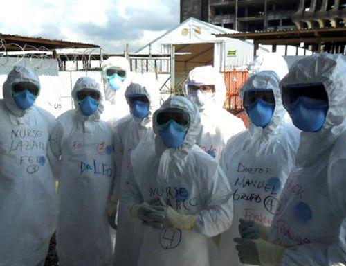 ebola, africa, cuba, medicos cubanos, revista time