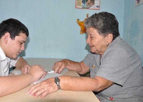 educacion cubana, sancti spiritusa, maestros, enseñanza especial