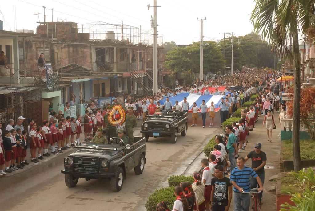 Operación Tributo en Sancti Spíritus.