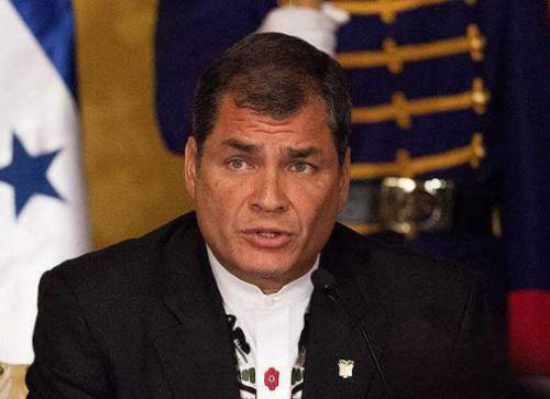 rafael correa, bloqueo de estados unidos a cuba, derechos humanos