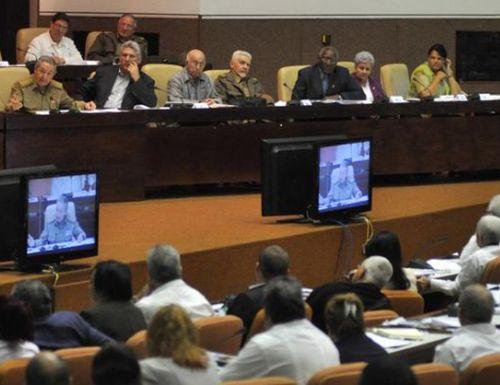 raúl castro, asamblea nacional del poder popular, cuba, parlamento cubano