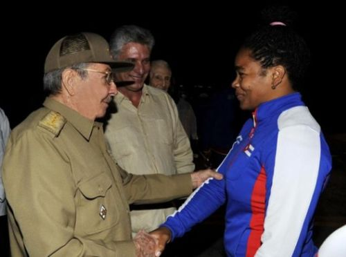 raul castro, cuba, deportes, deportistas, juegos centroamericanos y del  caribe, veracruz 2014