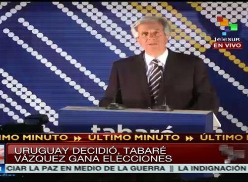 uruguay, tabare vazquez