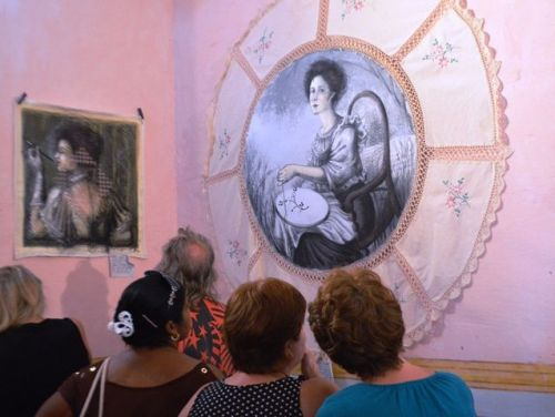 artes plasticas, trinidad, yudit vidal, aniversario 501 de trinidad