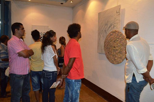 La muestra de Osley se expone en la Galería de Arte Benito Ortiz Borrell, en Trinidad.