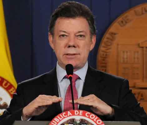 Santos reiteró su confianza en que 2015 será el año de la paz en Colombia.