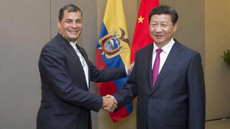 Esta resulta la primera visita oficial de un jefe de Estado ecuatoriano al gigante asiático.