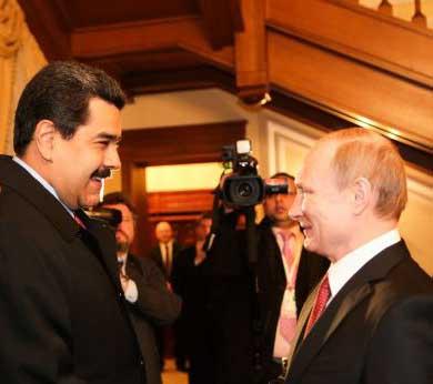 Maduro comentó a Putin los resultados de su gira por las potencias petroleras.