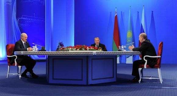 Rusia, Kazajistán y Bielorrusia dieron vida a la Unión Económica Euroasiática.