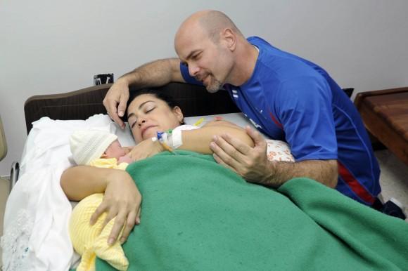 Gema, Adriana y Gerardo. Foto: Estudios Revolución