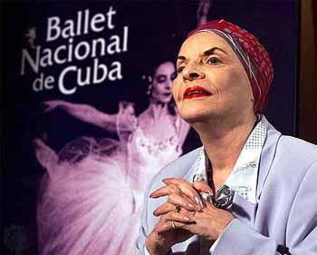 Alicia Alonso. Bailarina cubana