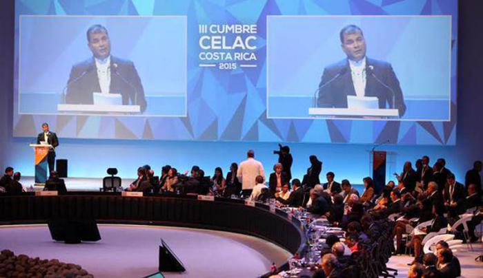 Ecuador asume hasta principios del 2016 la presidencia pro Témpore de la Celac Foto: www.eltelegrafo.com