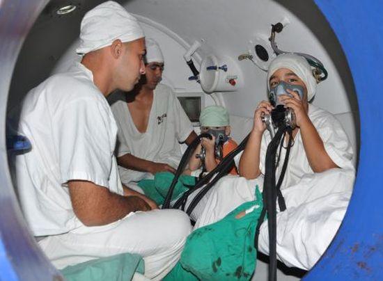 salud publica, sancti spiritus, camara hiperbarica, hospital provincial camilo cienfuegos