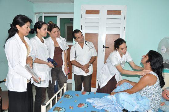 sancti spiritus, hospital provincial camilo cienfuegos, endocrinologia