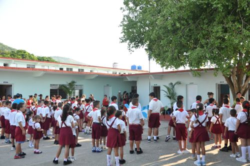 sancti spiritus, educacion, enseñanza primaria