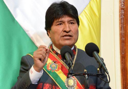 evo morales, toma de posesión, bolivia