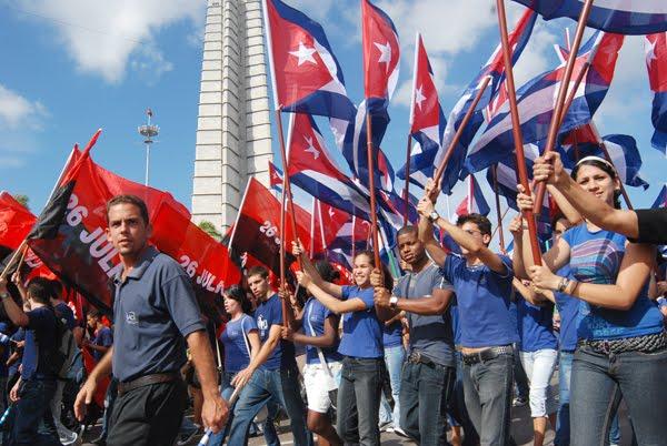 La Unión de Jóvenes Comunistas cuenta con 400 mil militantes.
