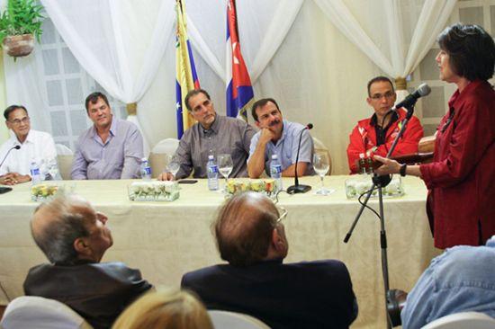 los cinco, heroes cubanos, antiterroristas cubanos, venezuela, cuba