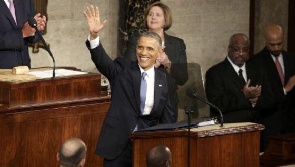 Obama pidió al Congreso que comience a trabajar este año para poner fin al bloqueo a Cuba.