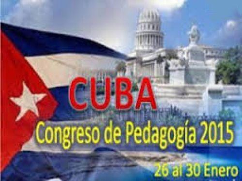 Iniciará en Cuba XIV Congreso Internacional Pedagogía 2015