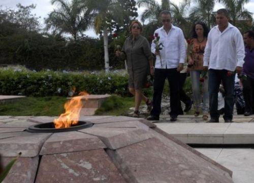 antonio guerrero, santa claera, che guevara, los cinco, heroes cubanos