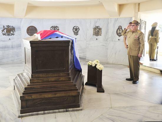 raul castro, revolucion cubana, heroes y martires de la patria, santiago de cuba, jose marti