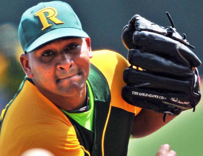Freddy Asiel saldrá por la gloria de la Serie del Caribe. Foto Ricardito López.