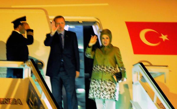 La visita de Erdogan es la primera de un mandatario turco a la región desde 1995.