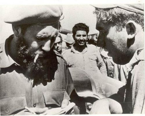 Fidel Castro Luis Báez