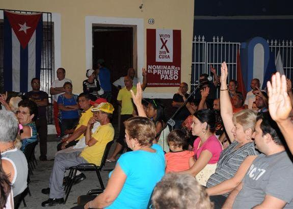 De los nominados el 64,07 % son actualmente delegados de las Asambleas Municipales del Poder Popular.