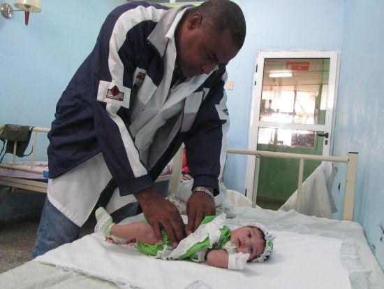 La cirugía neonatal realizada en la provincia alcanza elevados índices de supervivencia.