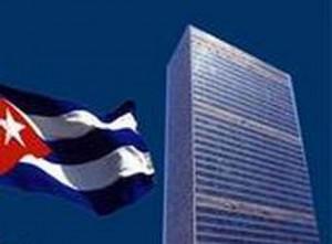 Cuba ratificó en la ONU que a pesar del bloqueo, ningún ciudadano ha quedado desamparado.