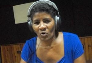 Elsa Ramos mereció el lauro en radio.