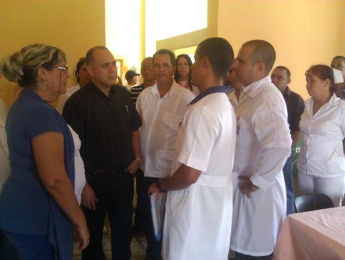 ministro de salud, sancti spiritus, salud publica, hospital provincial camilo cienfuegos, hogar de ancianos
