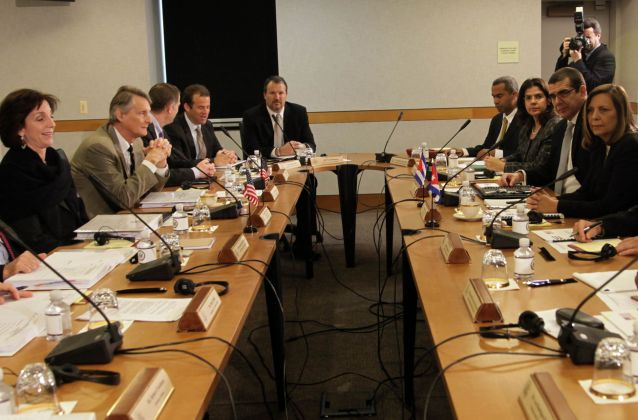 cuba, estados unidos, conversaciones oficiales, relaciones diplomaticas