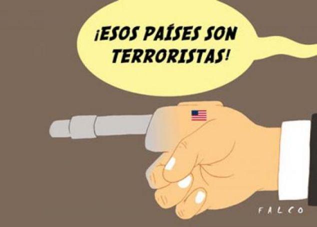 paises terroristas