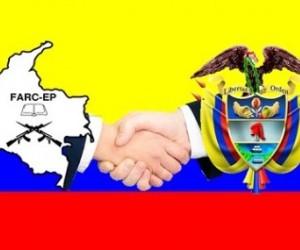 Negociaciones de paz de las FARC-EP con el Gobierno de Colombia.